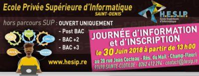 HESIP journée information et inscription du 30 juin 2016